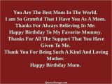 Happy Birthday to the Best Mom In the World Quotes Birthday Quotes for Mom You are the Best Mom In the World