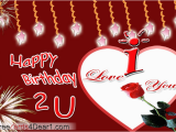 Happy Birthday to the One I Love Cards Birthday Greeting Ecard for Love Greeting Cards