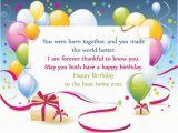 Happy Birthday to Twins Quotes Happy Birthday Twins Wishes Quotes 2happybirthday
