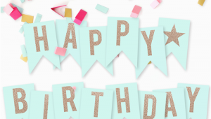 Happy Birthday to You Banner Free Printable Happy Birthday Banner I Should Be Mopping