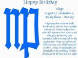 Happy Birthday Virgo Quotes Virgo Birthday Quotes Quotesgram