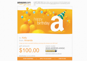 Happy Birthday Visa Gift Card Amazon Com Print BirthdayBuzz