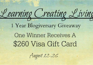 Happy Birthday Visa Gift Card Ask Away Blog 260 Giveaway