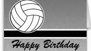 Happy Birthday Volleyball Quotes Volleyball Happy Birthday Card Card Making Pinterest