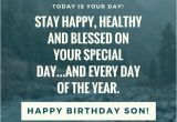 Happy Birthday Wishes Quotes for A son 35 Unique and Amazing Ways to Say Quot Happy Birthday son Quot