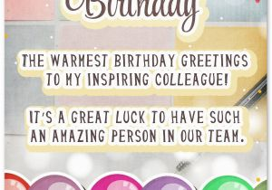 Happy Birthday Wishes Quotes for Colleague 33 Heartfelt Birthday Wishes for Colleagues Wishesquotes