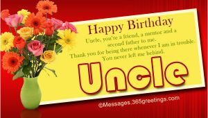 Happy Birthday Wishes Quotes for Uncle Birthday Wishes for Uncle 365greetings Com