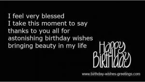 Happy Birthday Wishes Reply Quotes Reply On Birthday Wishes and Thanks Birthday Replies Greetings