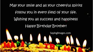 Happy Birthday Wishes to Brother Quote 20 Happy Birthday Wishes Quotes for Brother