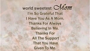 Happy Birthday Wishes to My Mom Quotes Dear Mother Wonderful Birthday Wishes to World Sweetest