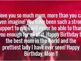 Happy Birthday Wishes to My Mom Quotes the 105 Happy Birthday Mom Quotes Wishesgreeting