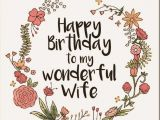 Happy Birthday Wishes to My Wife Quotes Birthday Sms for Wife