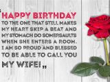 Happy Birthday Wishes to My Wife Quotes Romantic Birthday Wishes for Your Wife Can 39 T Do Anything