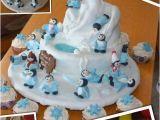Happy Feet Birthday Decorations 1st Birthday Boy Cake Happy Feet Cookies Pinterest