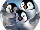 Happy Feet Birthday Decorations Happy Feet 2 Cake Icing Image This Party Started