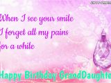 Happy First Birthday Granddaughter Quotes Happy Birthday Wishes for Granddaughter Quotes and Images
