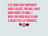 Happy First Birthday son Quotes 35 Happy First Birthday Wishes Wishesgreeting