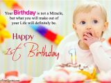 Happy First Birthday son Quotes Happy 1st Birthday Quotes for New Born Baby Girl and Baby Boy
