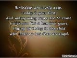 Happy First Birthday son Quotes Happy 1st Birthday Wishes Quotes Quotesgram
