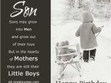 Happy First Birthday son Quotes Happy Birthday Cards for son Heavenly Birthday Wishes