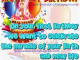 Happy First Birthday to My Baby Boy Quotes 1st Birthday Quotes for Cards Quotesgram