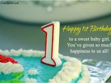 Happy First Birthday to My Baby Boy Quotes Happy 1st Birthday Quotes for New Born Baby Girl and Baby Boy