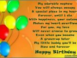 Happy First Birthday to My Nephew Quotes Birthday Poems for Nephew Wishesmessages Com