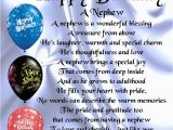 Happy First Birthday to My Nephew Quotes Personalised Coaster Nephew Poem Happy Birthday Free