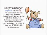 Happy First Birthday to My Nephew Quotes Write Happy Birthday Nephew Wishes In A Card