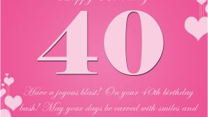 Happy forty Birthday Quotes 40th Birthday Wishes 365greetings Com
