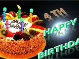 Happy Fourth Birthday Quotes 4th Birthday Wishes Whatsapp Facebook Greeting Video