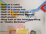 Happy Half Birthday Quotes Half Birthday Celebrations Coolest Family On the Block