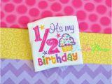 Happy Half Birthday Quotes Happy 1 2 Birthday It 39 S My Half Birthday Baby Shower