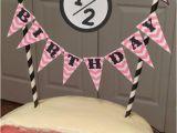 Happy Half Birthday Quotes Happy Half Birthday Cake topper Party Pinterest