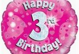 Happy Third Birthday Banner Happy 3rd Birthday Quotes for Little Girls Quotesgram