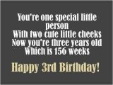 Happy Third Birthday Quotes 3rd Birthday Messages Wishes and Poems