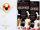 Harlem Nights Birthday Invitations Harlem Nights Get Draped Down Birthday Invitation African