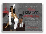 Harlem Nights Birthday Invitations Harlem Nights Ii by Tiffanymcgraw On Etsy