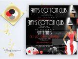 Harlem Nights Birthday Invitations Harlem Nights themed Engagement Party by Tiffanymcgraw On Etsy