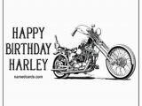 Harley Davidson Birthday Cards for Facebook Happy Birthday Harley Named Birthday Cards