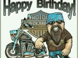 Harley Davidson Birthday Cards for Facebook Motorcycle Man Happy Birthday Have A Good One Happy