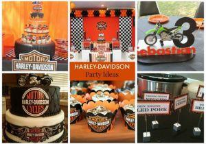 Harley Davidson Birthday Decorations Kara 39 S Party Ideas Harley