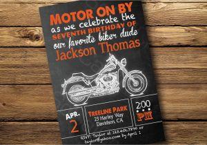 Harley Davidson Birthday Party Invitations Best Ideas