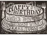 Harley Davidson Happy Birthday Cards Genuine Harley Davidson Roll On Birthday Card Ebay