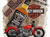 Harley Davidson Happy Birthday Cards Happy Birthday Harley Davidson and Whiskey Birthday