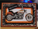 Harley Davidson Happy Birthday Cards Harley Davidson Birthday Card Motorcycle Cards