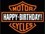 Harley Davidson Happy Birthday Cards Harley Davidson Motorcycle Happy Birthday Harley Davidson