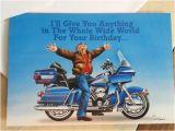 Harley Davidson Happy Birthday Cards Vintage Harley Davidson Birthday Card and Envelope Hd