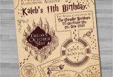 Harry Potter Birthday Invitation Cards Harry Potter Birthday Invitations Free Ideas Egreeting