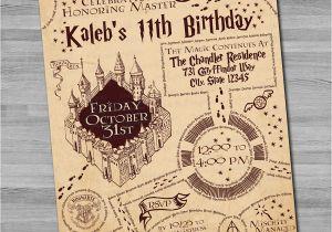 Harry Potter Birthday Invitation Cards Invitations Free Ideas Egreeting